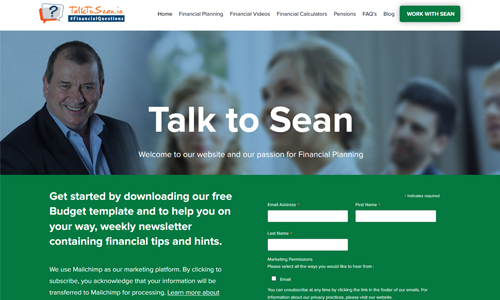Talk to sean